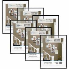 "8""x10"" Float Wall Picture Photo Poster Frame Hanging Home Decor Set Of 6"