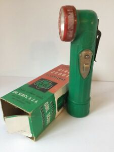 Official-Girl-Scout-Flashlight-Scouts-USA-1960-s-in-Original-Box