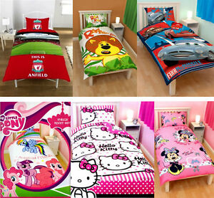 Image Is Loading Kids Characters Amp Brands Single Double Bed Quilt