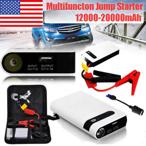 Details About Portable Car Jump Starter Engine Battery Charger 20000mah Power Bank W Case Us