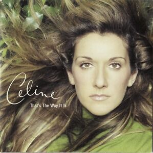 Celine-Dion-CD-Single-That-039-s-The-Way-It-Is-Europe-VG-VG