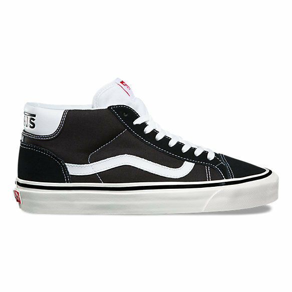 SALE Mens Vans Mid Skool 37 DX Anaheim Factory Black White SZ 5-13 NEW