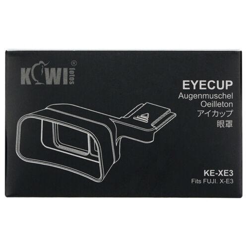 Ocular Ocular Visera Extensor JJC cámara para Fujifilm X-E3 XE3 Visor