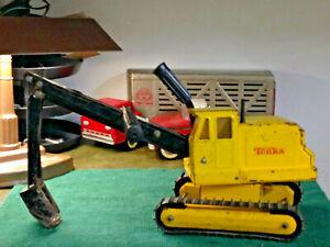 tonka-backhoe-shovel-digger-excavator-original-condition