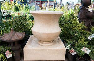 GRC-Outdoor-Garden-Patio-Water-Feature-Cascading-Iva-Jar-Urn-Fountain-Sandstone