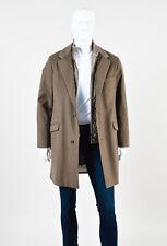 "MENS Loro Piana Taupe Cashmere Zipped ""Martingala"" Jacket & Vest Set SZ 50"