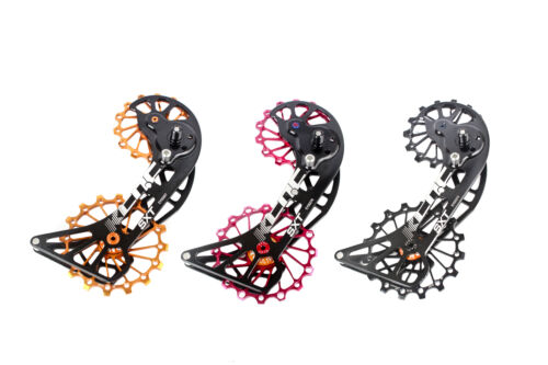 KCNC SXT MTB Cycling Bike Oversize Pulley Cage for Shimano Deore XT M8000 Red
