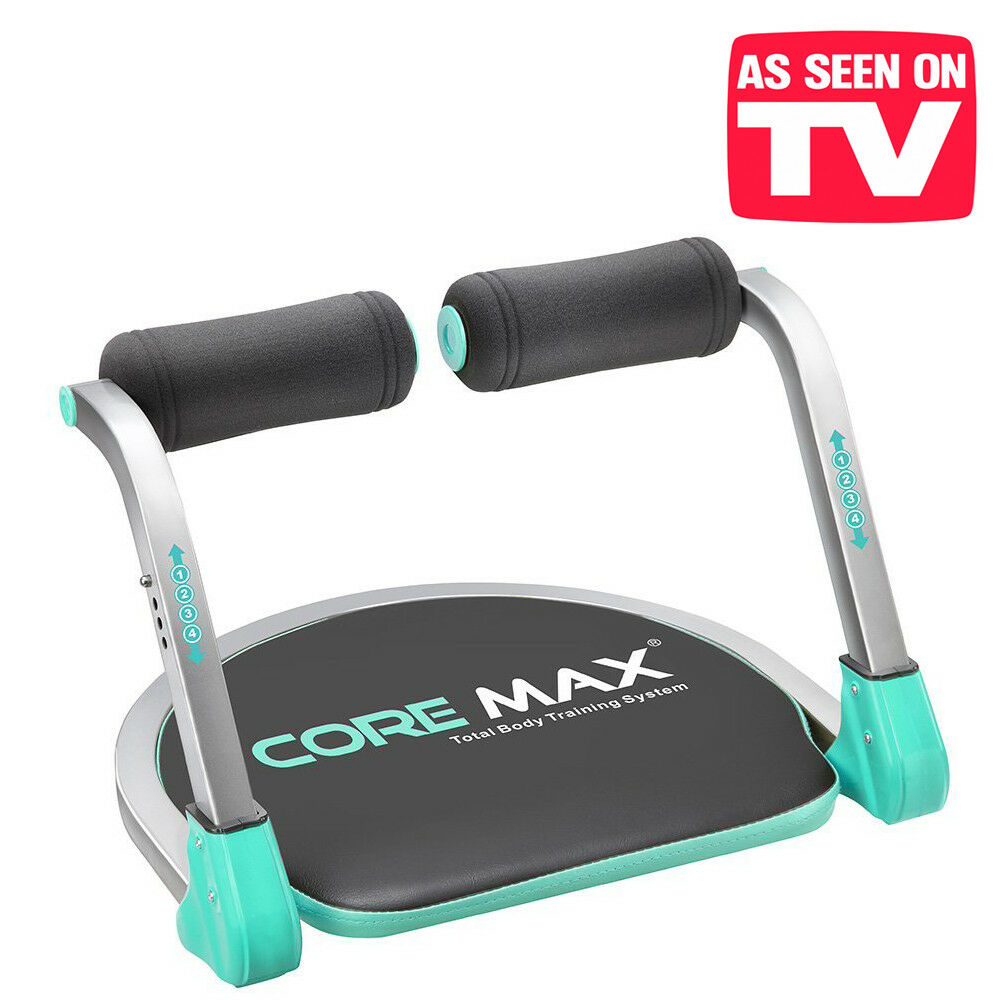 Panca per Addominali Core Max Attrezzo per crunch trainer completo total ab tb