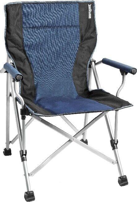 Cámping brunner compacta silla plegable silla de Cámping  Raptor azul negro  la red entera más baja