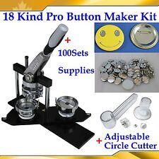 Great Button Maker Parts Heart Shape Pin Back Button Parts Diy