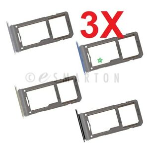 3X Samsung Galaxy Note 8 SM-N950 Single Sim Card Tray Sim Tray SD Card Holder