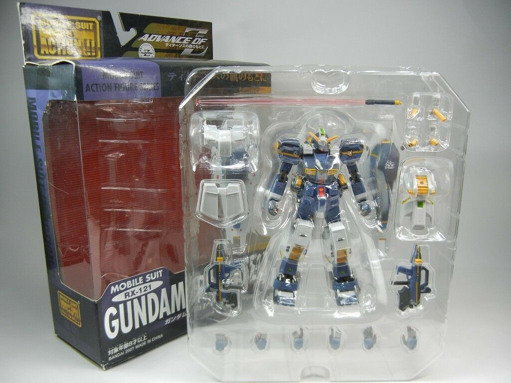 MSIA Advance of Z  RX-121 Gundam TR-1 (HAZEL)  Action Figure BANDAI