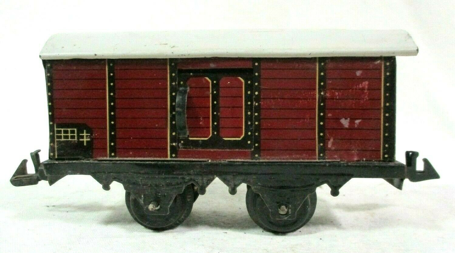 Bing 67 O Gauge Covered Wagon Model Railway Freight Train B66-43