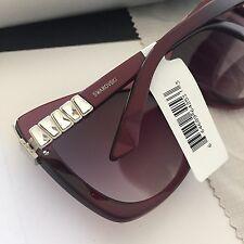 Swarovski Women's Esmeralda SW90 Purple Butterfly Sunglasses w/ Crystal NWT