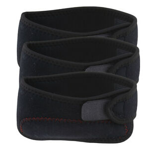 Black-Sports-Patella-Knee-Strap-Adjustable-Patellar-Tendon-Support-Band-1x-2x