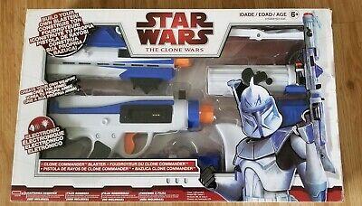 clone commander blaster star wars the clone wars build your own blaster new | ebay