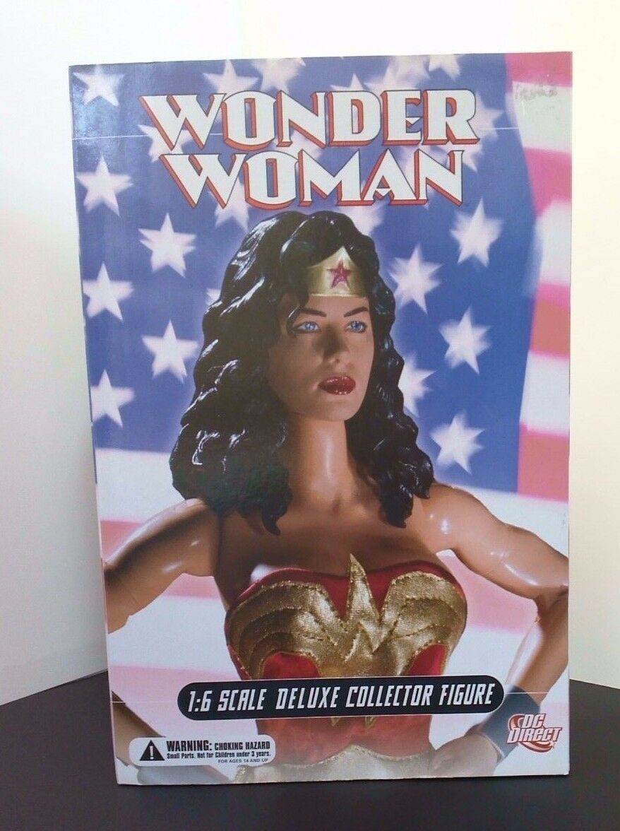 BNIB  DC DIRECT WONDER WOMAN DELUXE COLLECTOR FIGURE 13  1 6 Scale Figure