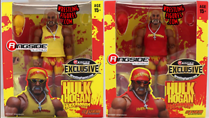 Both Red & Yellow  Hulkamania  Hulk Hogan - Ringside Exclusives