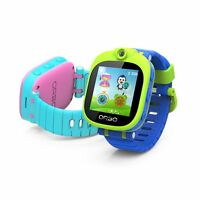 Orbo Kids Bluetooth Phone Pairing Smartwatch with Rotating Camera (Pink/Aqua)