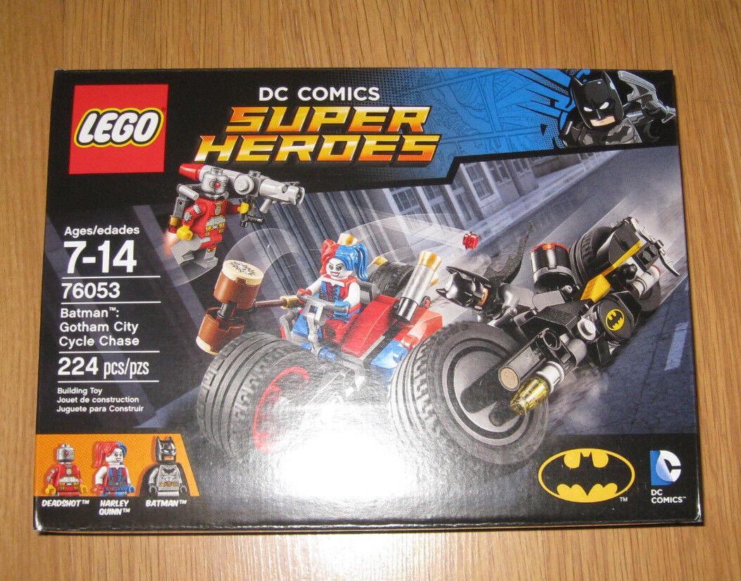 LEGO DC Comics Super Heroes 76053 Batman Gotham Gotham Batman City Cycle Chase ab4e17