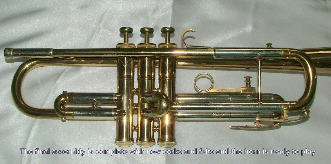 Ultrasonic cleaning for your trumpet cornet flugelhorn