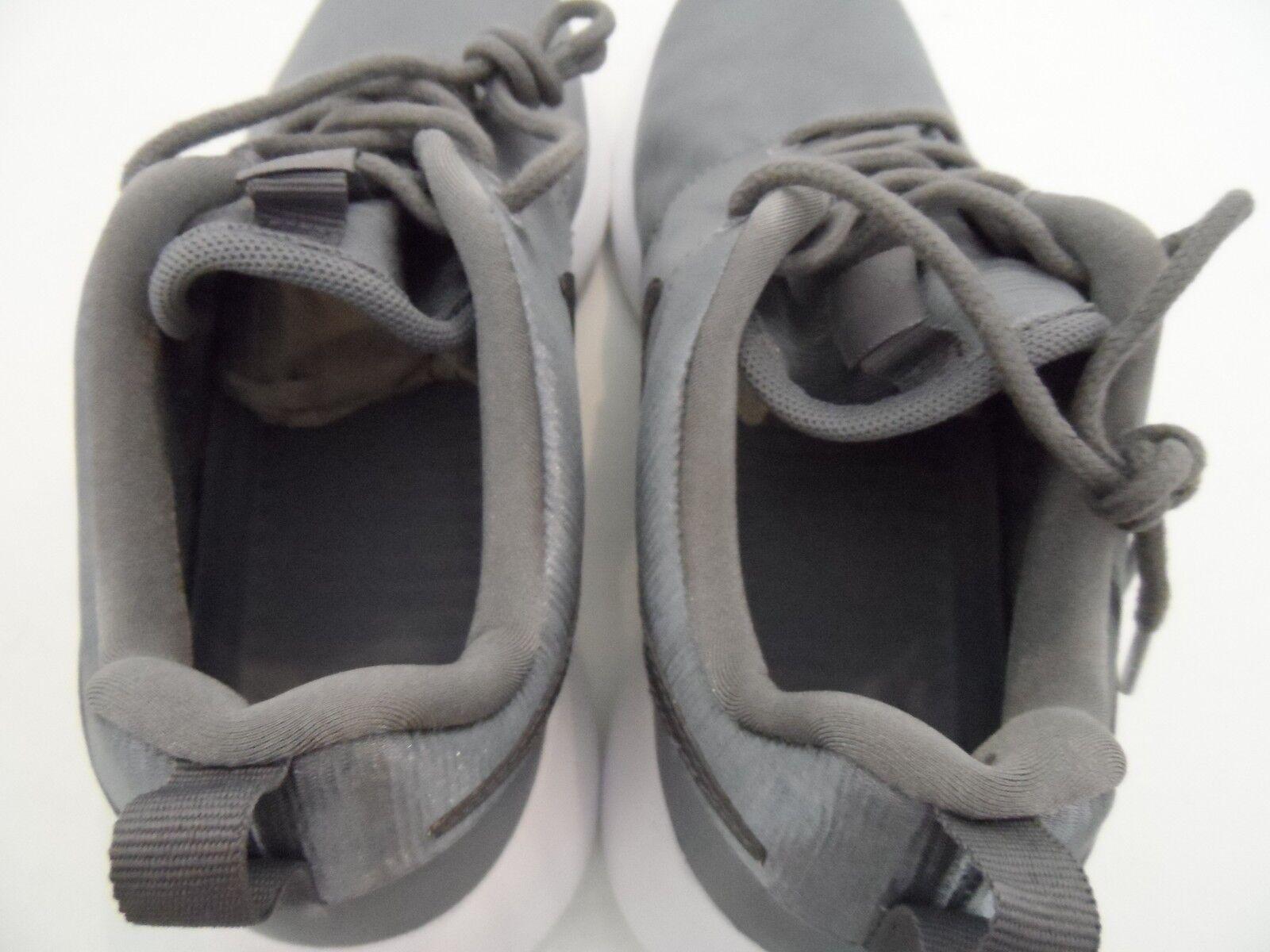 46f6fbc4cbd ... Nike Women s Roshe One PRM Running Shoes Shoes Shoes Smoke Gray White  Size 7 d4b424