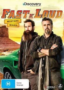 Fast-N-039-Loud-Mustang-Mania-DVD-2014-2-Disc-Set-Region-4-vgc-t1