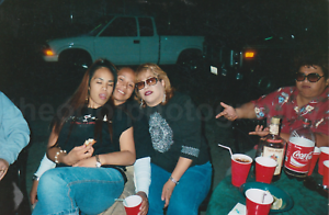 Party Girls FOUND PHOTO Color FREE SHIPPING Original Snapshot VINTAGE 711 10