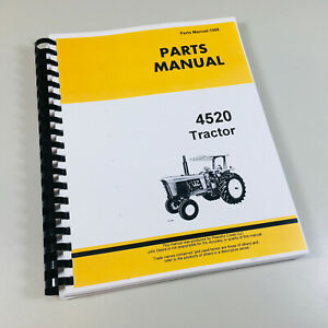 image is loading parts-manual-for-john-deere-4520-tractor-catalog-
