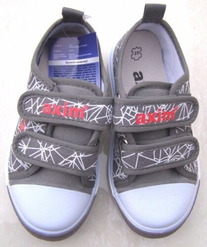 BOYS LEATHER INSOLES BLACK GREY TRAINERS SPIDER WEB SPORT SHOES SCHOOL PLIMSOLLS