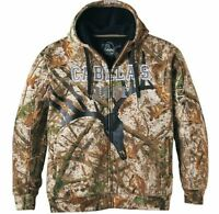 3xl Xl Zonz Woodlands Insulated Hooded Camo Jacket Mens Hunting Coat Cabelas