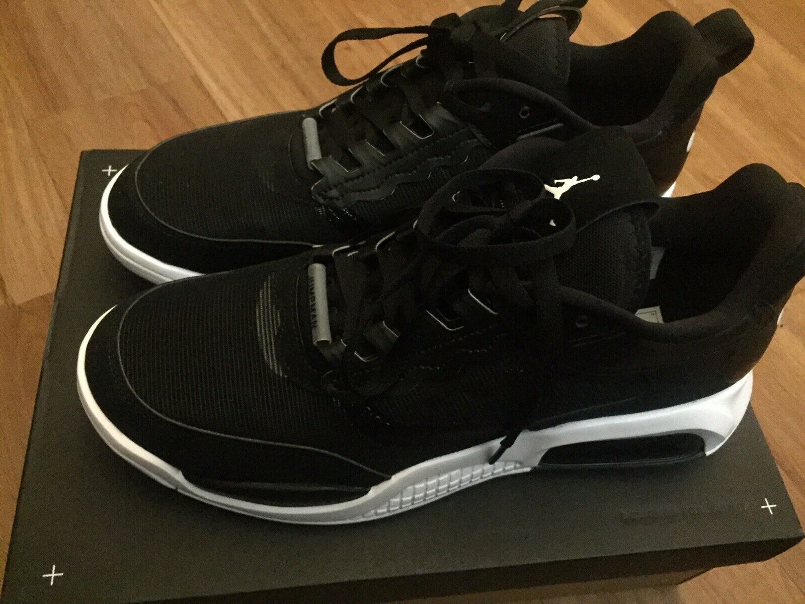 Nike Air Jordan Max 200. Black/White. New with Box Size 9.5
