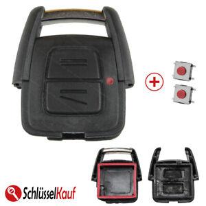 Autoschluessel-Gehaeuse-2x-TASTER-NEU-passend-fuer-Opel-Astra-Corsa-Meriva-Zafira