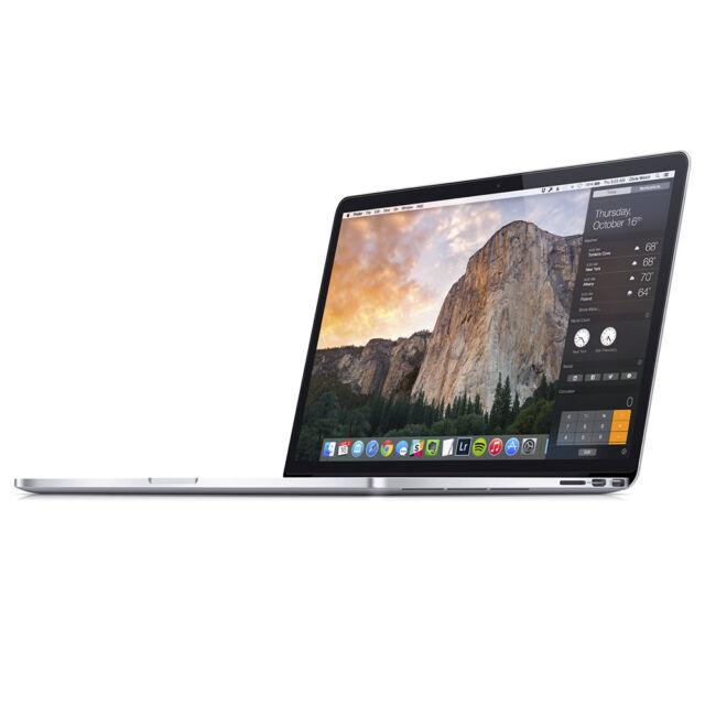 Apple MacBook Pro - 15,4'' / 2,5GHz / 16GB / 512GB SSD - i7 - Iris Pro - QWERTY