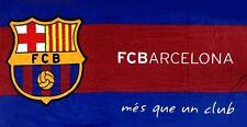 FC Barcelona Beach Towel 30x60 - La Liga Soccer