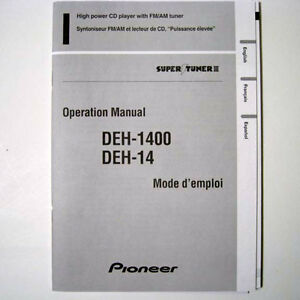 Pioneer deh-14ub 1450ub 1490ub service manual download, schematics.