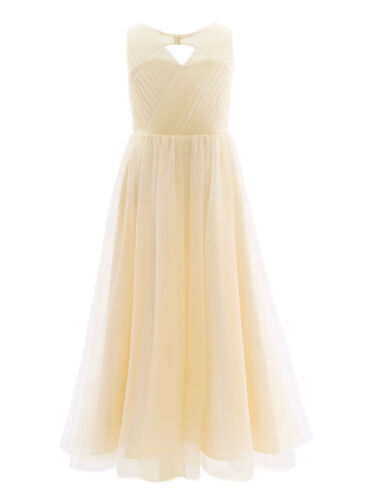 Flower Girls Princess Dress Junior Bridesmaid Wedding Party Gown Formal Pageant