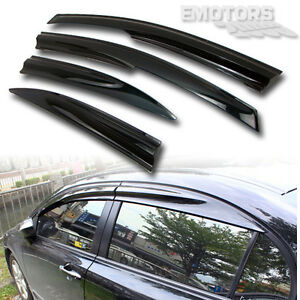08-11 HONDA Civic 8th Sedan OE Side Vent Window Visor Louver Visor