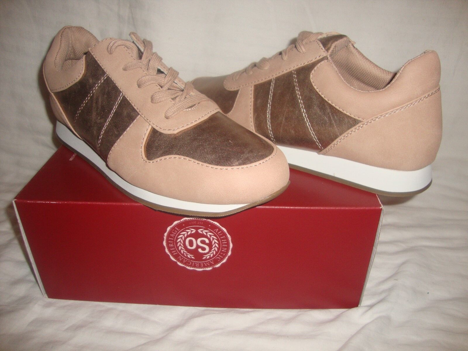 New Women Authentic American Heritage SO Flash Sneakers Blush Shoes Size 10 - Blush Sneakers bad24f