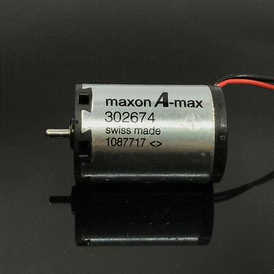 Swiss Maxon A-max 302674 Micro 22mm*32mm Coreless Motor High Speed DC12V 5600RPM