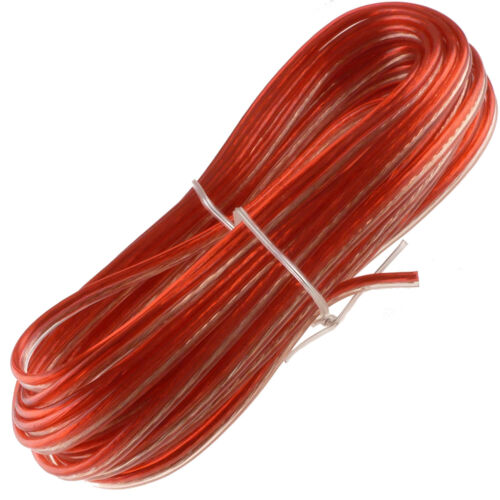 25 Feet 22 Gauge Speaker Wire Red High Performance Fast Free Shipping From USA