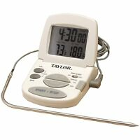 Taylor 1470 Digital Cooking Thermometer/timer , New, Free Shipping on Sale