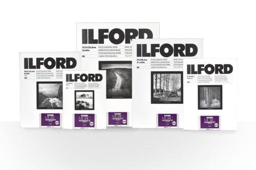 8x10 cuarto oscuro impresión de papel 25 Hojas Ilford multigrado V RC de Lujo Perla