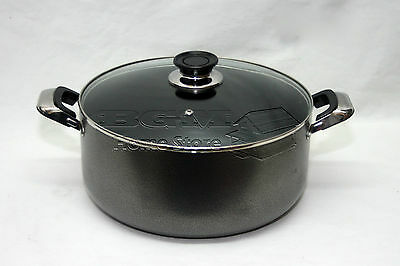 Onverdroten 30cm Non Stick Coated Non Stick Aluminum Cookware Casserole Glass Lid 15142 Verschillende Stijlen