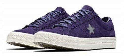 CONVERSE ONE STAR OX CT MEN ALL STAR SUEDE LOW MEN CT SHOES PURPLE 158475C SIZE 10 NEW bc984f