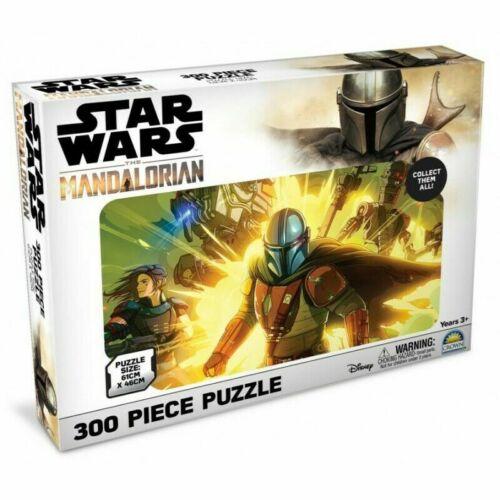 300 Piece Jigsaw Puzzle 60cm x 45cm. Star Wars The Mandalorian IG11 Cara Dune