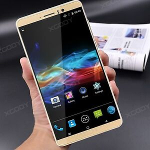 "6.0"" XGODY 3G Unlocked Android 5.1 Smartphone 8GB 5MP+5MP 2SIM 4Core Cell Phone"