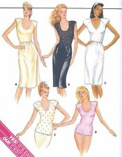 Vintage Women's Plus Size Half Slip & Fitted Camisole Top Sewing Pattern UNCUT