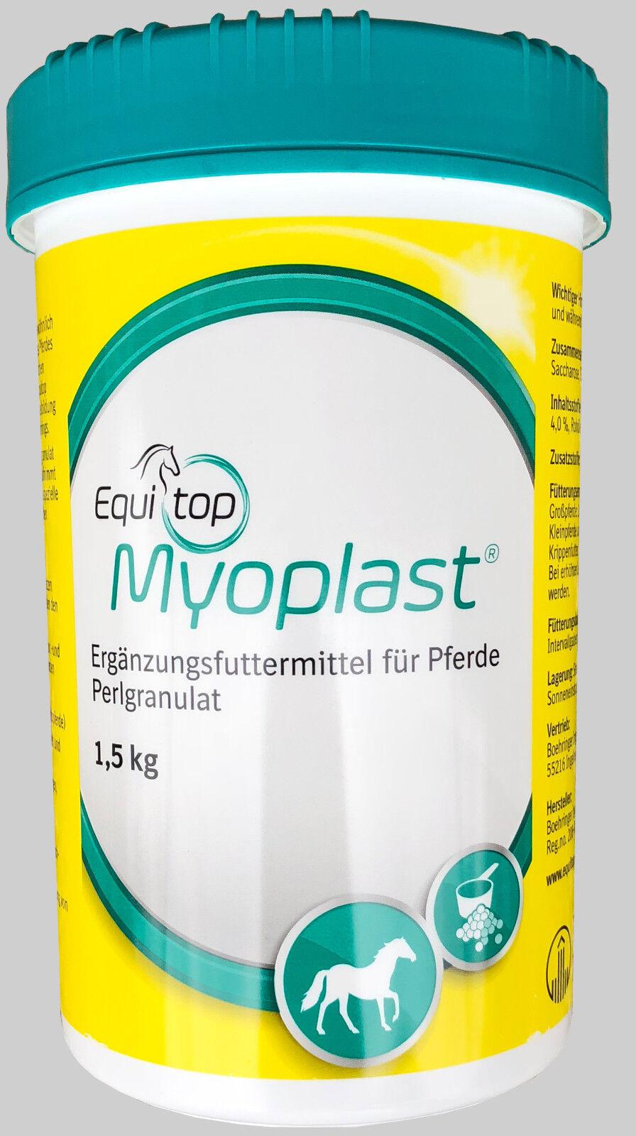 3 x Boehringer Equitop Myoplast 1,5 kg Boehringer x (Pferd) 3eb904