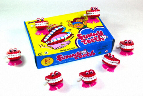 150x Klapper Zähne,Zähne,Scherzartikel,Mitgebsel,Geburtstag,Klapper Gebiss,K1142